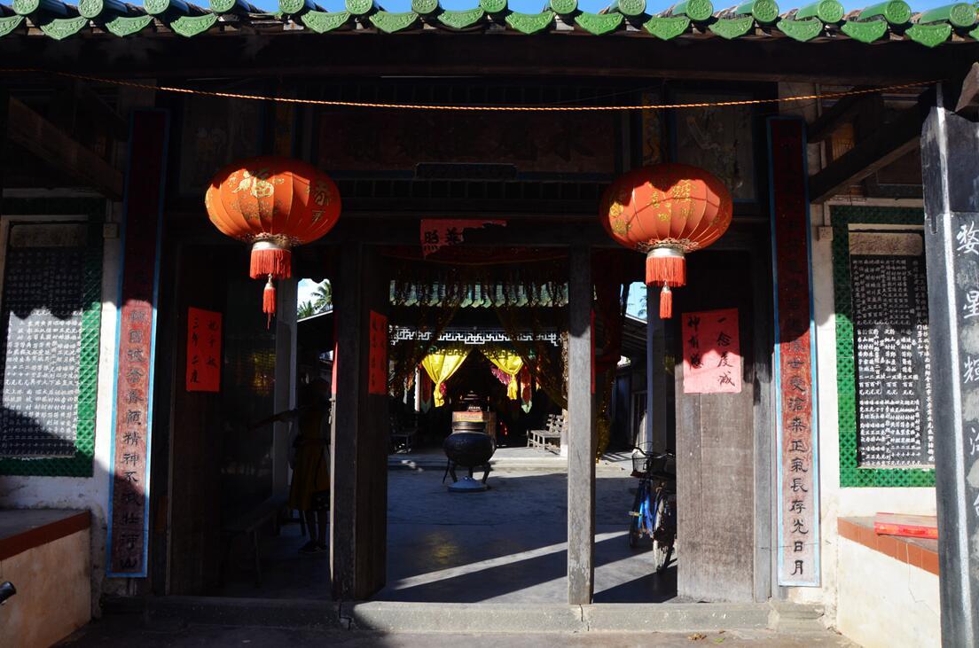 文昌东郊水尾圣娘庙