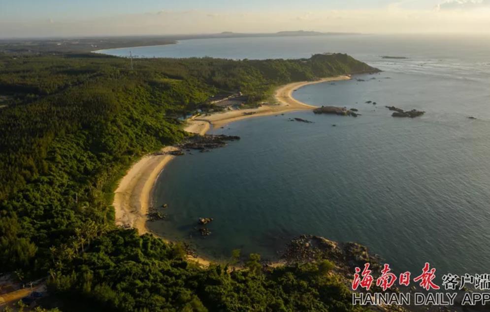 木兰湾美景。海南日报客户端记者陈若龙摄
