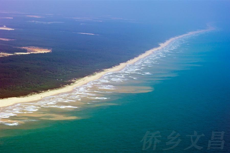木兰湾海岸线